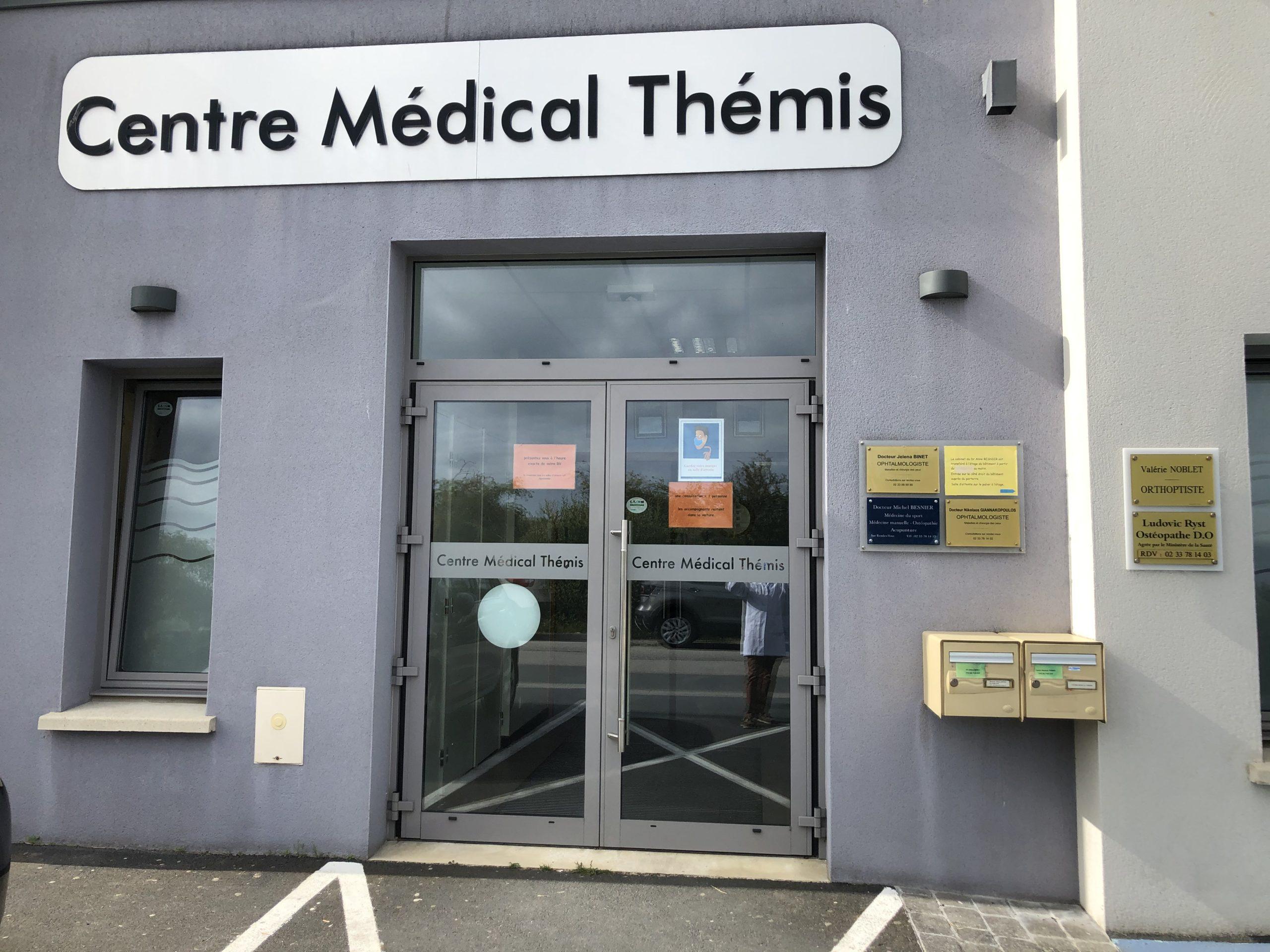 Photo centre médical thémis Cherbourg